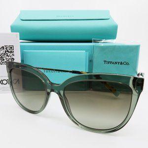 Tiffany & Co. TF 4176 8338/3M Dark Olive Clear